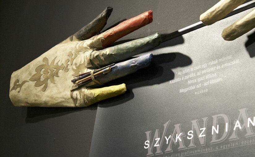 Szyksznian Wanda életmű-kiállítása Szombathelyen